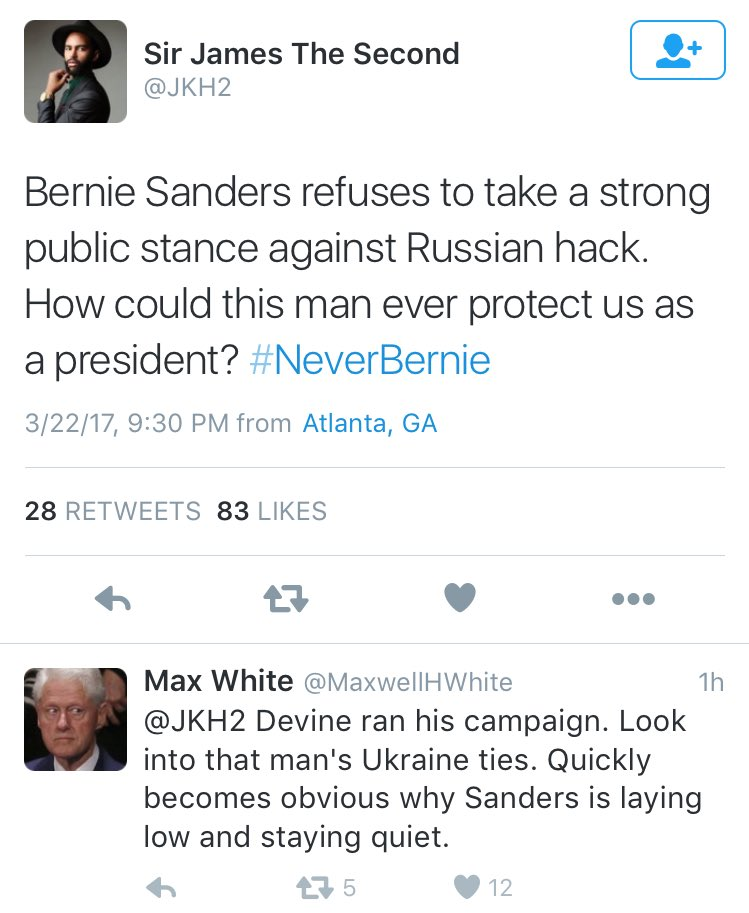 Bernie literally put out a 3 minute long video on this very thing