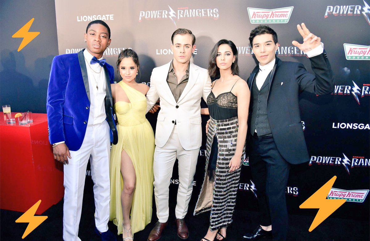 That\'s a wrap from the #PowerRangersPremiere! 💥⚡️🎉