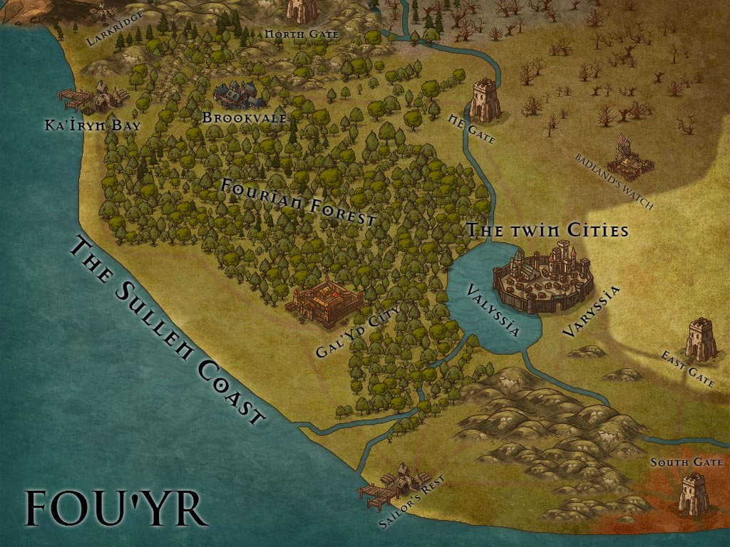 Fou&#39;Yr, on the western edge of Alterria. #rpg #Cartographie #map @inkarnaterpg<br>http://pic.twitter.com/64xGdDgh9c