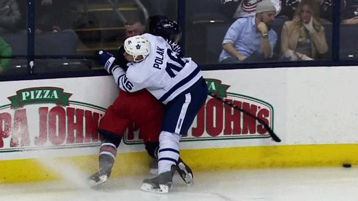 #Leafs' Roman Polak will have a hearing for his hit on Oliver Bjorkstr...