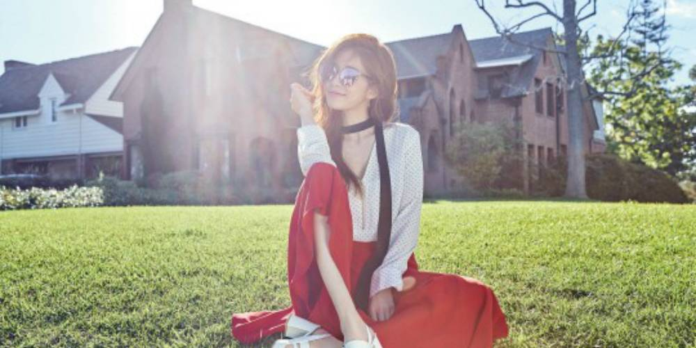 Yoo In Na shows off her lady-like charm in 'Marie Claire' https://t.co...