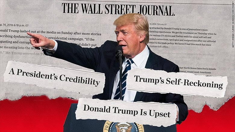 The Wall Street Journal and Trump: a history of hostility https://t.co...