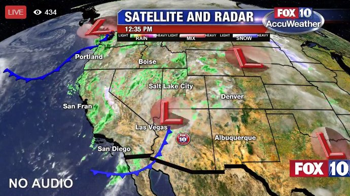 Live A Look At The Latest Weather Radar As Stormy Weather Moves - Weather doppler az