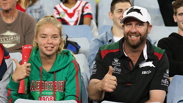 Ready for some fireworks!  #GoRabbitohs #NRLSouthsRoosters https://t.c...