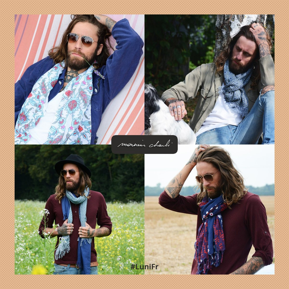 Nouvelle collection Monsieur Charli !   http:// luni.fr/createurs/mons ieur-charli.html &nbsp; …  #homme #lunifr #accessoire #lookoftheday #luni #new #tendance #menscarf<br>http://pic.twitter.com/IdAGqN4JQ2