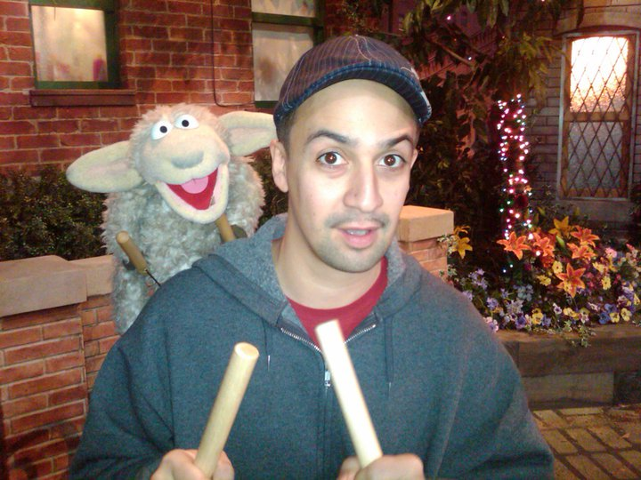 That time I wrote a tune for Sesame Street and they named the lamb who sang it LAMB-MANUEL