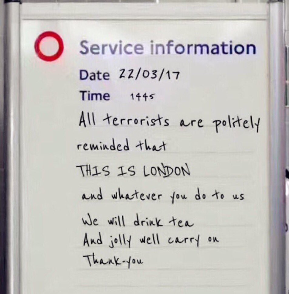 Why we ❤️ London  - via @MalCPD  #londonattack #WestminsterAttack http...