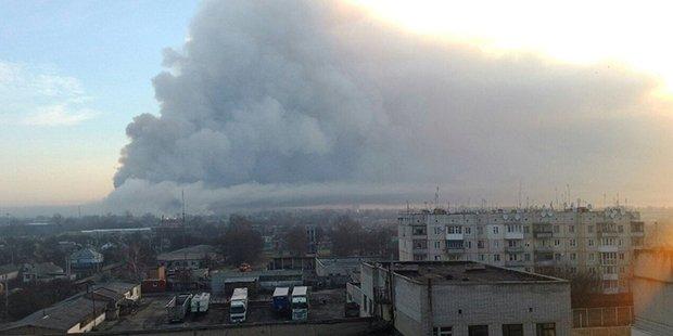 Ukrayna'da silah deposunda patlama; 20 bin kişilik kasaba tahliye edil...