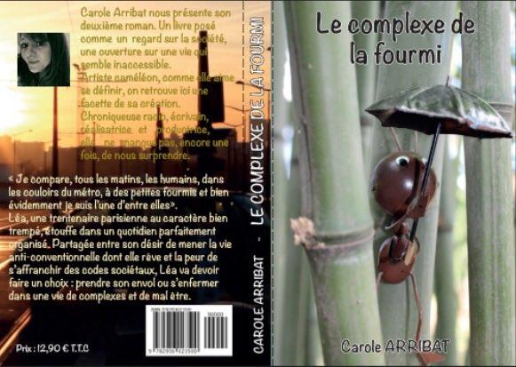 24/03/2017 sortie &quot;Le complexe de fourmi&quot; en voici la #cover #books #LivreParis #livre #blog #Amazon<br>http://pic.twitter.com/MBR6akMnxo