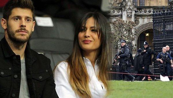Fabri ve sevgilisi, Londra'daki terör saldırısından ucuz kurtuldu http...