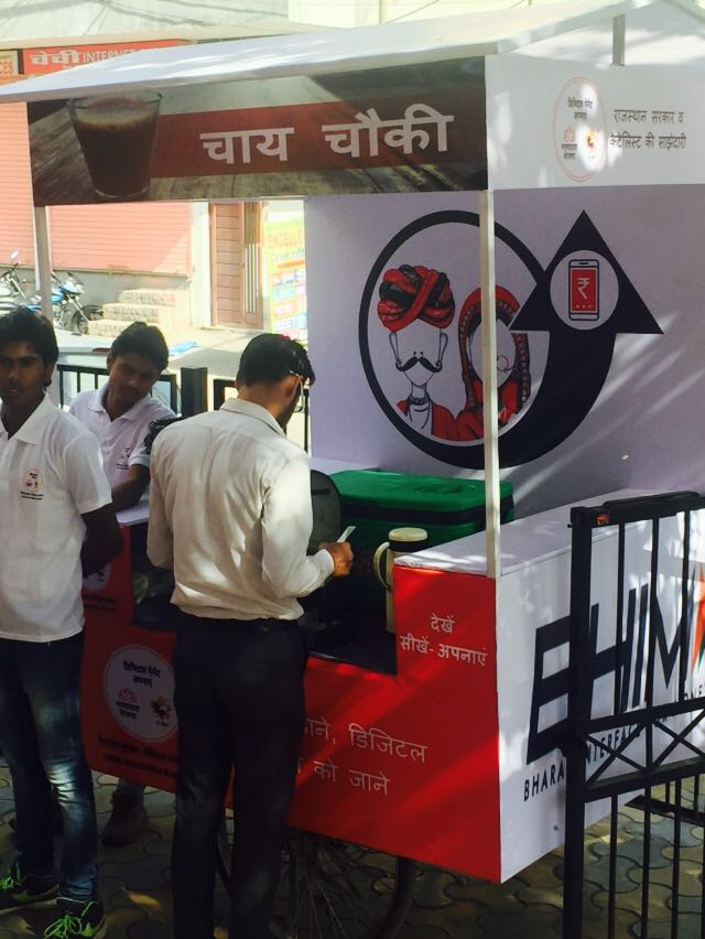 Govt of Rajasthan and Catalyst hold 3-day camp in Jaipur from March 23rd-25th to spread awareness on #DigitaPayments, especially #BHIM! <br>http://pic.twitter.com/6f4HsH79Fd