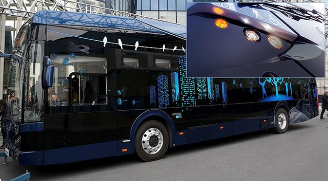 Son teknoloji ile donatıldı...  İstanbul'da elektrikli otobüs devri ba...