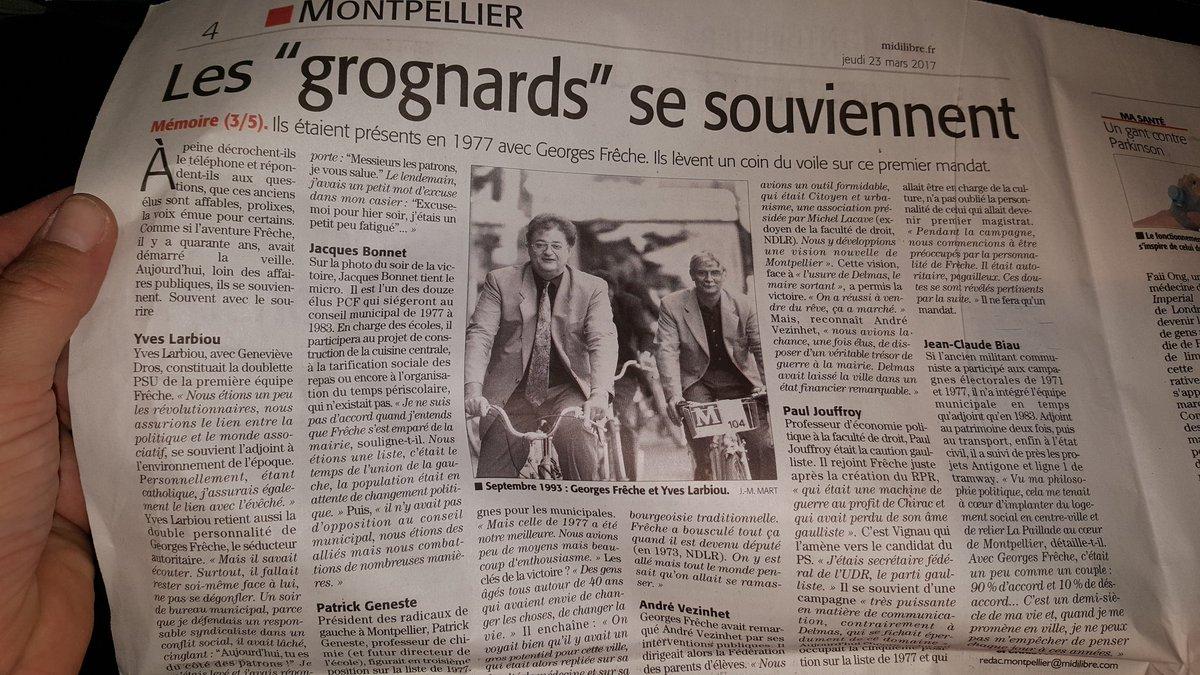 Un vrai Homme politique et Un grand Maire de #Montpellier Georges #Frêche  qui en aurait bien besoin aujourd&#39;hui. ... #MidiLibre <br>http://pic.twitter.com/gz8PcUeFBZ