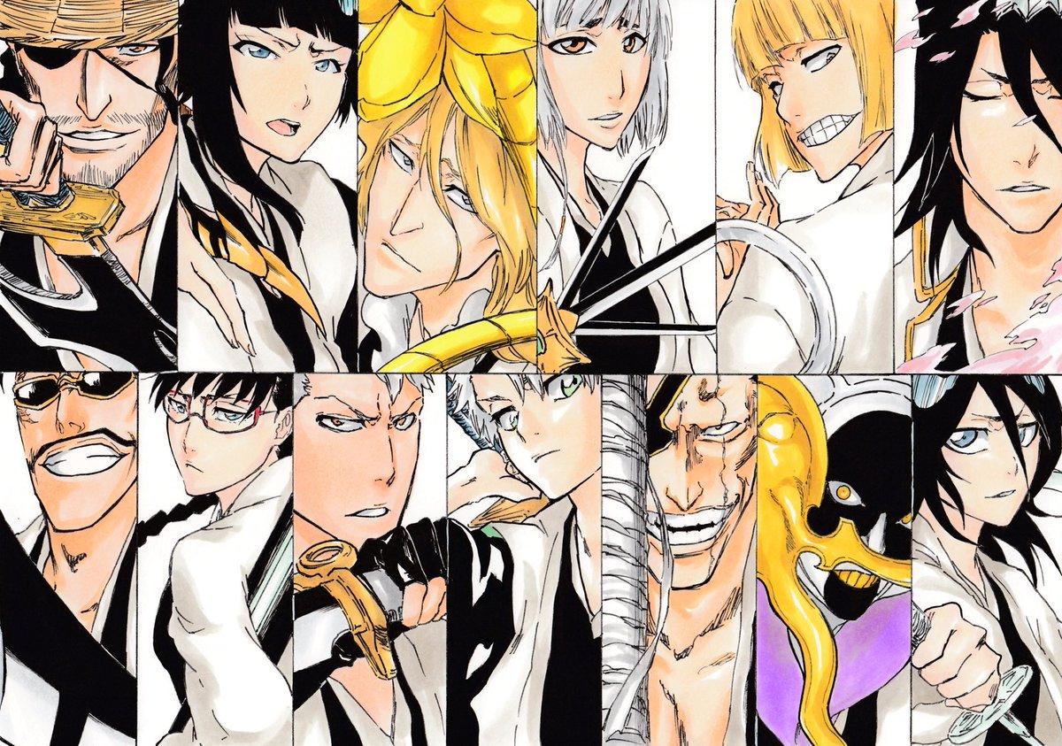 """todo_manga/anime on twitter: """"nuevos capitanes del gotei 13"""