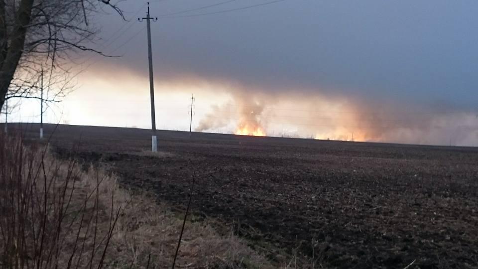 Взрыв склада боеприпасов в Балаклее