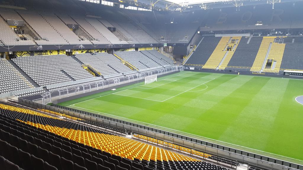 The venue for the first OptaPro German Conference. Westfalenstadion. h...