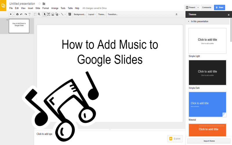 #How_to Add Music to #Google_Slides http://dlvr.it/Nhvz6w #HowTo #TechGuidepic.twitter.com/uaLnBXNrkJ