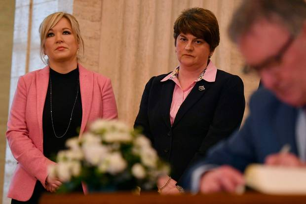 DUP's Arlene Foster to attend Martin McGuinness funeral Mass in Derry...