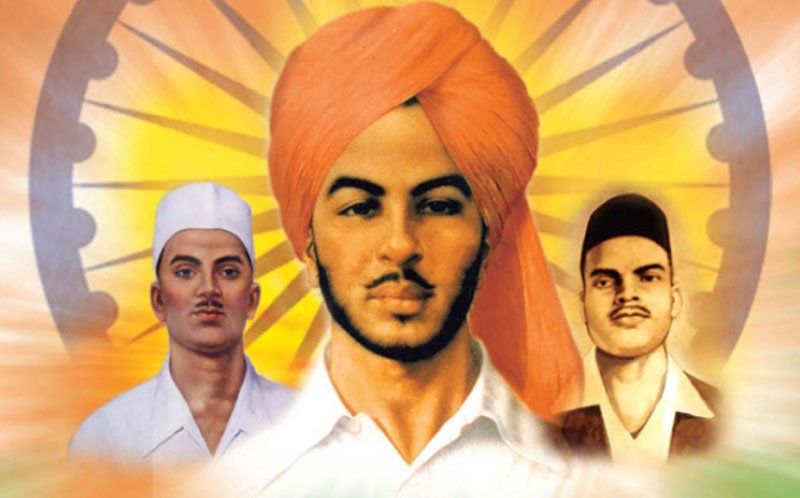 Salute and true tribute to our real hero and national freedom fighter Sukhdev, Rajguru, Bhagat Singh on the Martyrdom Day - 23 March 1931  #Shahid_Diwas