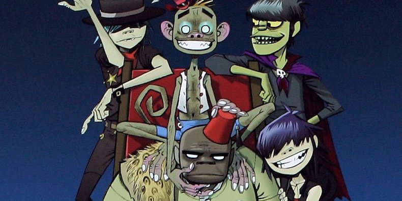 New @Gorillaz music is coming today at 3:00 p.m. Eastern https://t.co/...