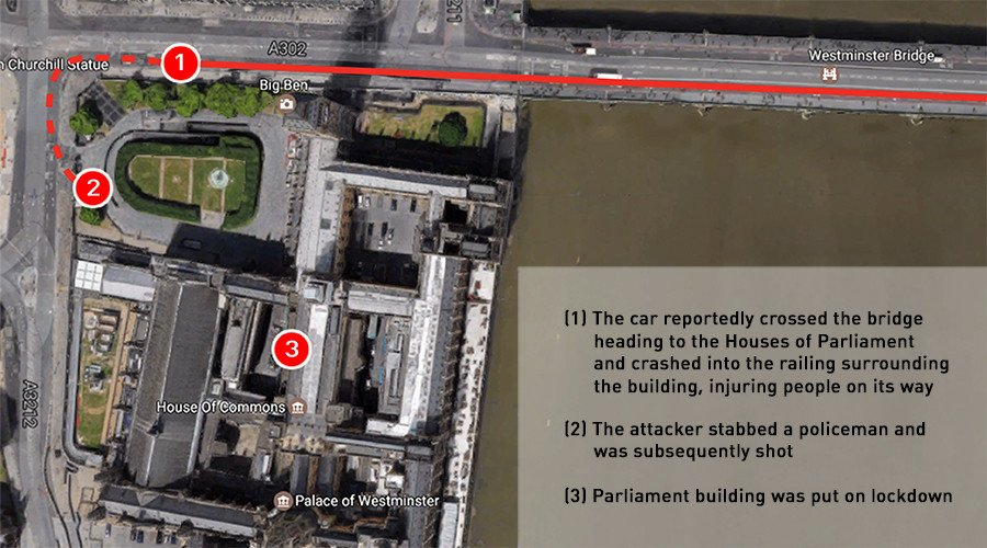 #London terrorist attack outside British parliament: What we know http...