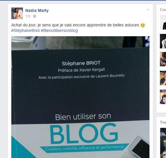 #BLOG ? L&#39;ouvrage référence sur le blogging ! #BienUtiliserSonBlog  #LeBlogueurProfessionnel   https://www. amazon.fr/Bien-utiliser- son-blog-performance/dp/2212565771/ &nbsp; …  Par @4h18<br>http://pic.twitter.com/cMtHP31feT
