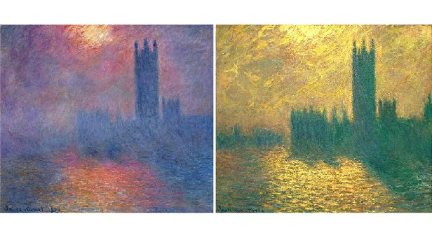 The Houses of Parliament. by Claude Monet. 1904.