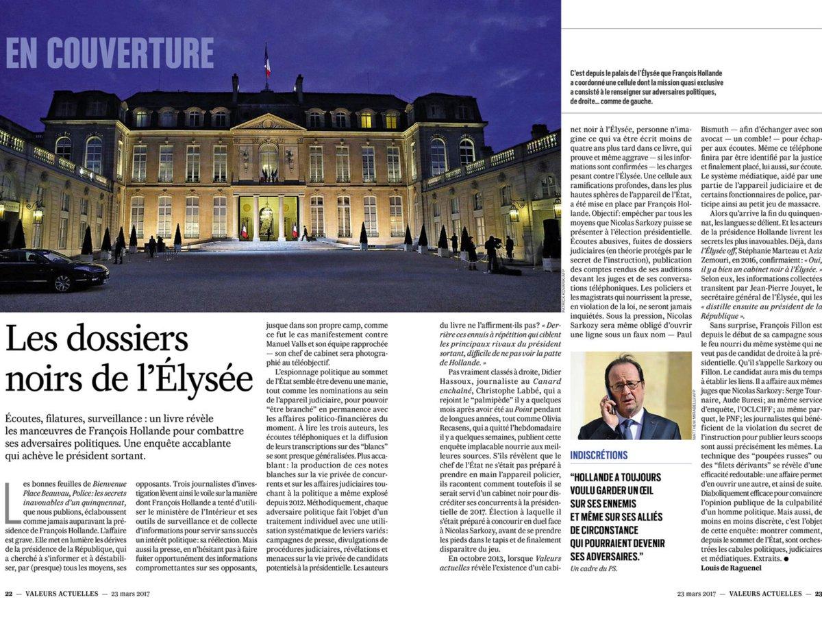 Tel Machiavel Hollande par tous les moyens, même les plus vils, comme le cabinet noir utilise police, justice, médias  pour tuer #Fillon ! <br>http://pic.twitter.com/Oh6kgecoDX