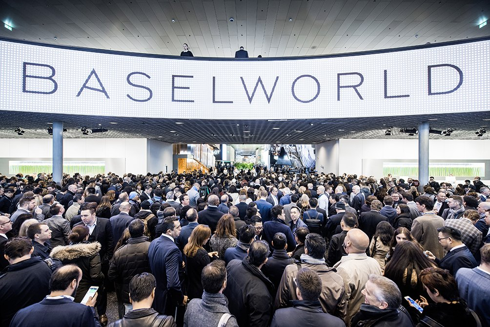 #Baselworld2017 opens today! We wish a wonderful and successful editio...