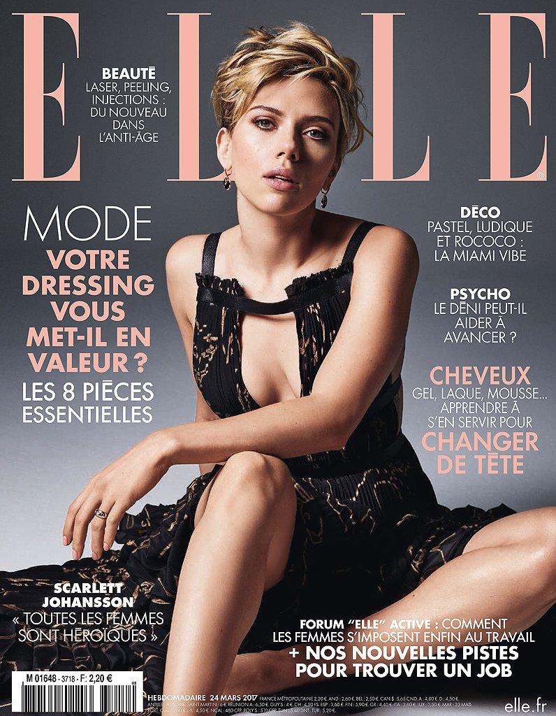 #People Scarlett Johansson en couverture de ELLE cette semaine !  http:// dlvr.it/NhxWmX  &nbsp;  <br>http://pic.twitter.com/QPGYGiQRGY