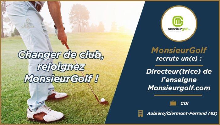 Passionné(e) de #golf  , rejoignez @monsieurgolf comme directeur(trice) en #CDI  http:// bit.ly/2naOFyr  &nbsp;   #sportbusiness #digisport #i4emploi<br>http://pic.twitter.com/Ie20t1Ib8L