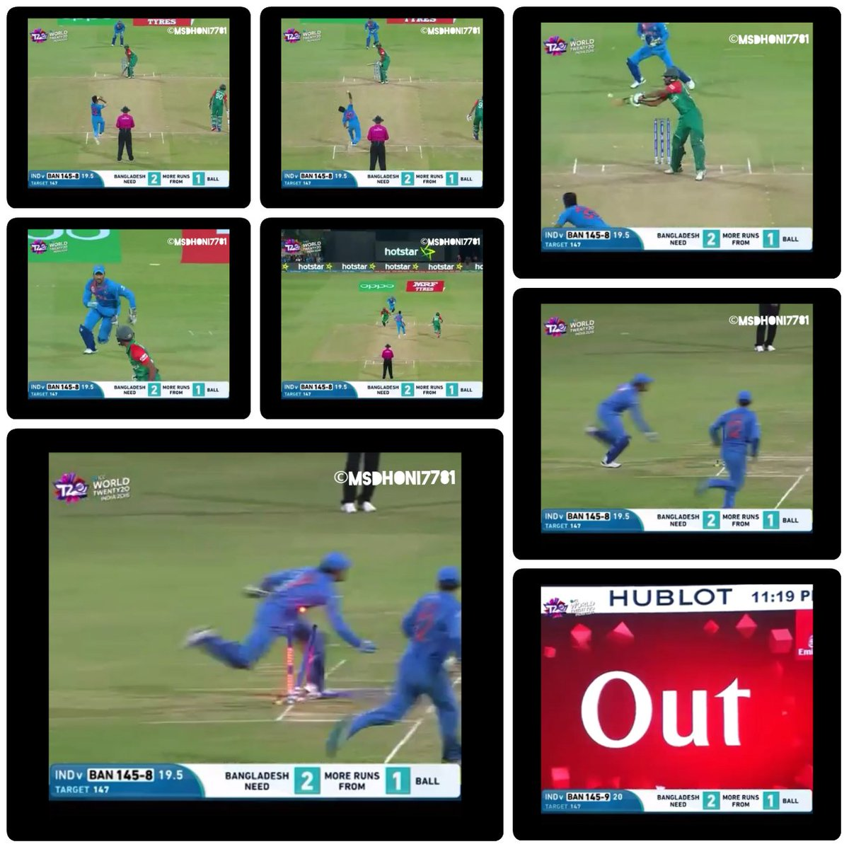 #OnThisDay, Last Year !!  Just KILL the RT button for this epic moment !! @msdhoni @BCCI Super Power - MS Dhoni  #Dhoni #TeamIndia #MahiWay<br>http://pic.twitter.com/zQfzMd7BFs