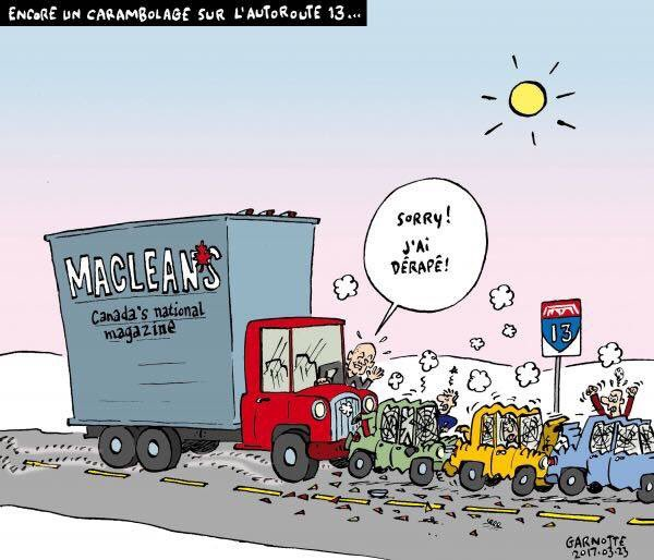 Dérapage chez Macleans... #PolQc #PolCan #Garnotte<br>http://pic.twitter.com/8EhM8yjxOm