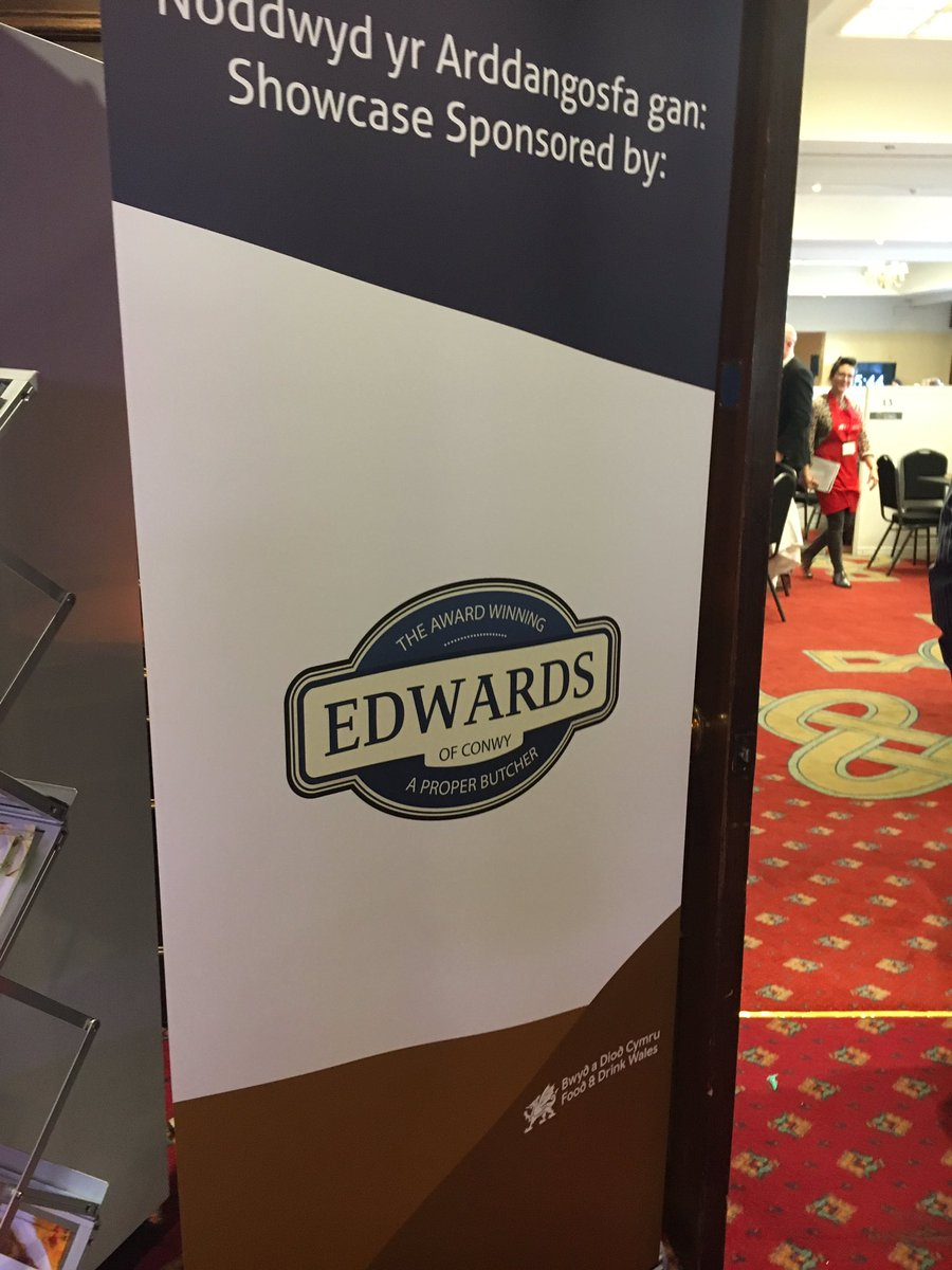 The #Edwards Showcase Sponsorship at #TasteWales is proving a hit! So many amazing Welsh producers in one place @FoodDrinkWales #BlasCymru<br>http://pic.twitter.com/vu06KJel5L