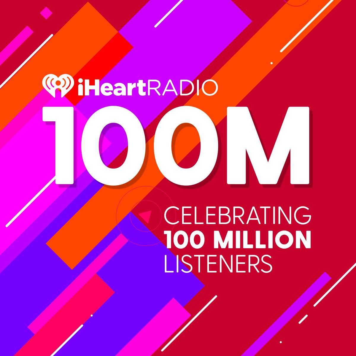 That is a huge accomplishment y'all! So happy for @iHeartRadio! #iHear...