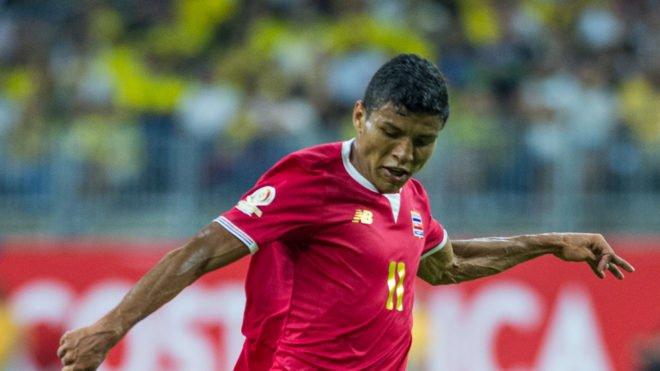 Resultado de imagen para johan venegas selección fedefutbol