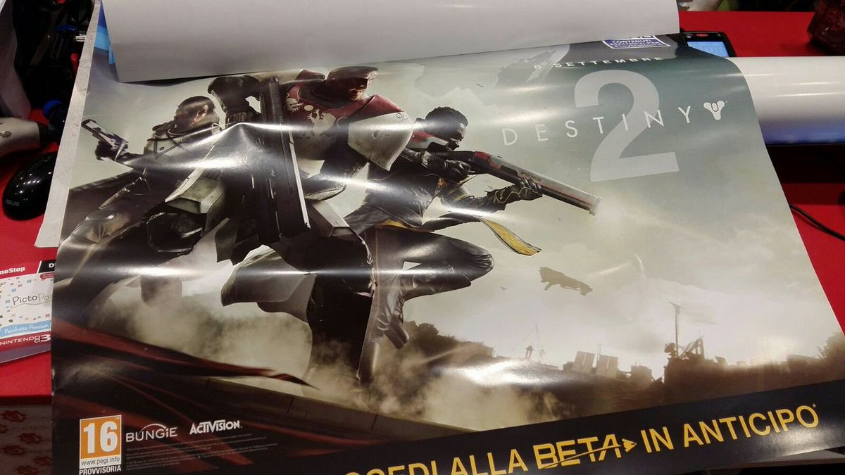 Leaked image reveals Destiny 2, out this September https://t.co/tJB6ud...