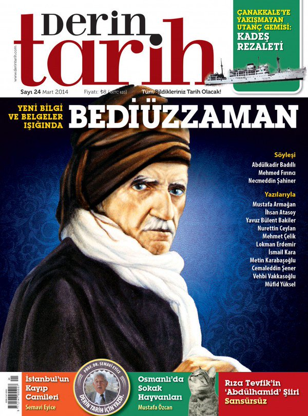 #TarihteBugün Bediüzzaman #SaidNursi vefat etti.(1960) https://t.co/Bv...