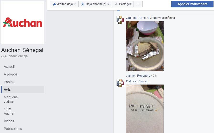 #Kebetu: Voilà la 2em alerte que je lance sur les produits rayon frais &amp; charcuterie de #AUCHAN #SENEGAL. Tout est pourri @AUCHAN_France<br>http://pic.twitter.com/B0YpXFHTaJ