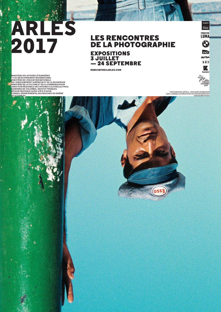 ARLES 2017 Les Rencontres de la Photographie  L'affiche ! #rencontresarles2017 https://t.co/0HUfIl8suj