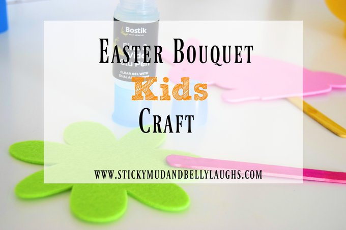 Easter Bouquet Kids Craft