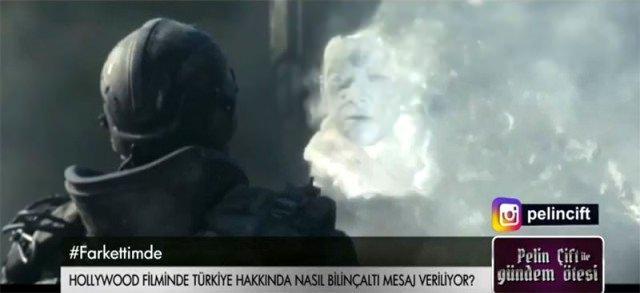TRT'de masaya yatırıldı!... Hollywood filminde akıl almaz 'Erdoğan' sa...