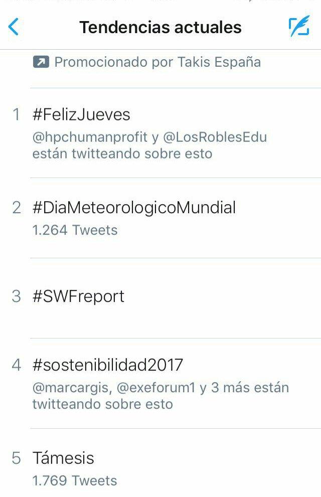 Muchas gracias a todos! Somos #TrendingTopic con nuestra jornada #Sostenibilidad2017 @exeforum1 @voz_populi #Inditex <br>http://pic.twitter.com/zydoxBOVsN