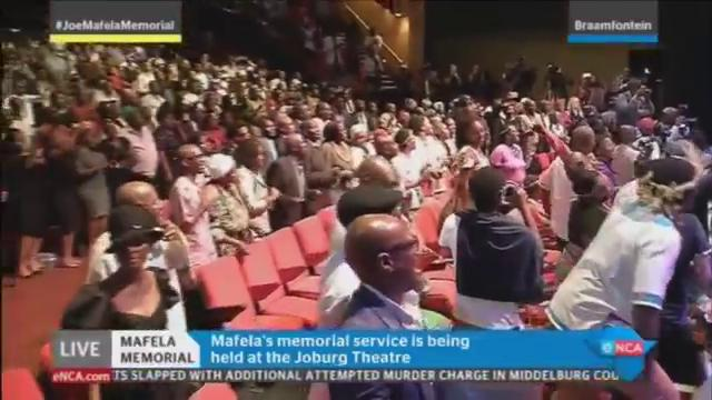 [WATCH] The #JoeMafelaMemorial breaks out into song. Watch it LIVE on...
