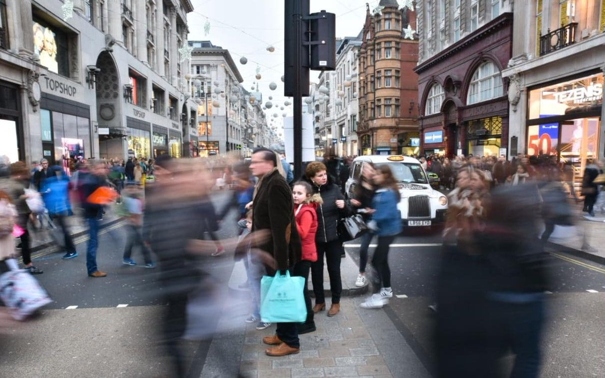 Retail sales bounce back as British shoppers return to the high street...