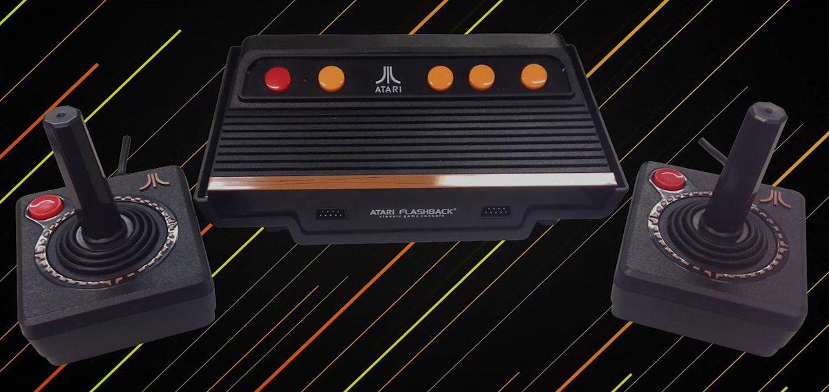 Atari 2600 é relançado no Brasil por R$ 500 e com 101 jogos na memória https://t.co/Hz9Dj5Z2b8 #G1