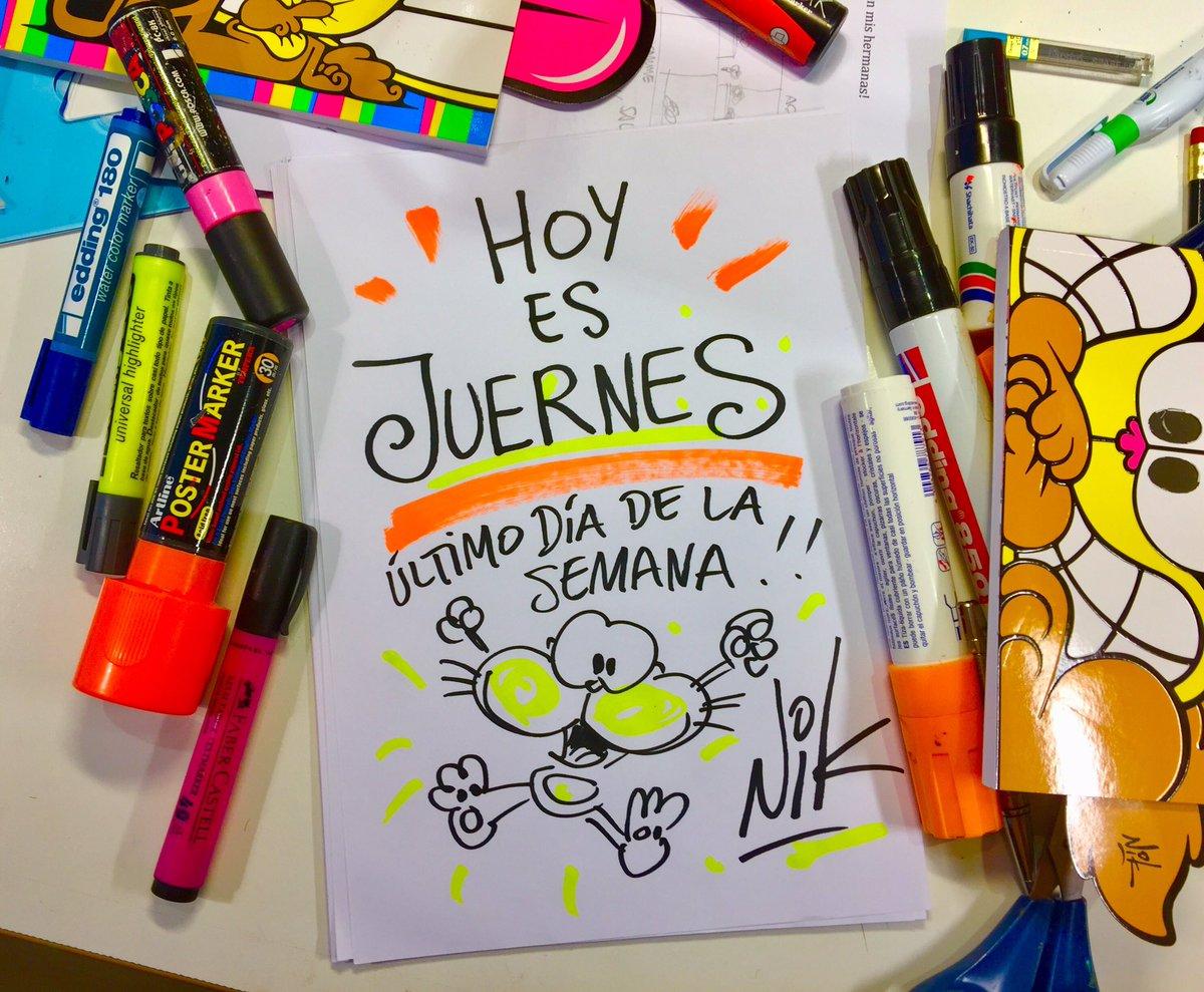 #BuenJueves HOY ES JUERNES!!! Iujuuuuuuuuuu!!!😬😃👍😂🤣😜😜😜 https://t.co/I7...
