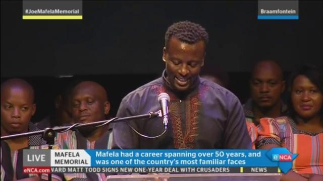 [WATCH] CCIFSA's Tony Kgoroge speaks at the #JoeMafelaMemorial. LIVE o...