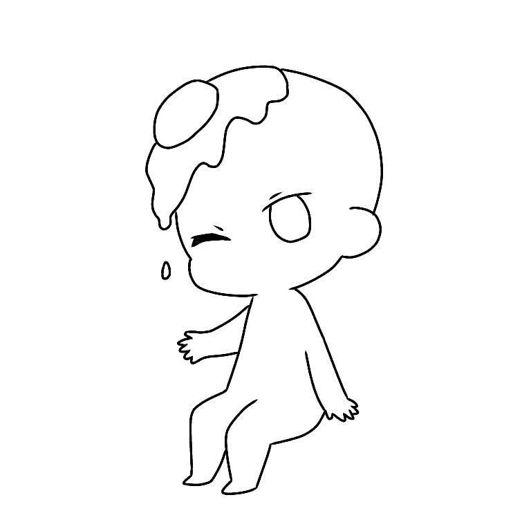 卵かけ : 【トレス素材】ポーズ...