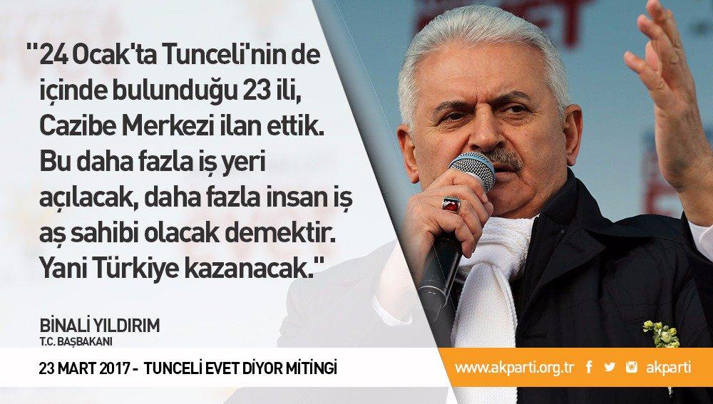 '24 Ocak'ta Tunceli'nin de içinde bulunduğu 23 ili, Cazibe Merkezi ila...